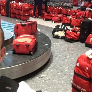 Ritorno dalle Olimpiadi, che shock al recupero bagagli per gli atleti britannici