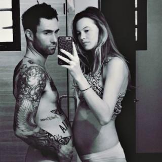 """La prima figlia di Adam Levine ha la parola """"Polvere"""" nel nome"""