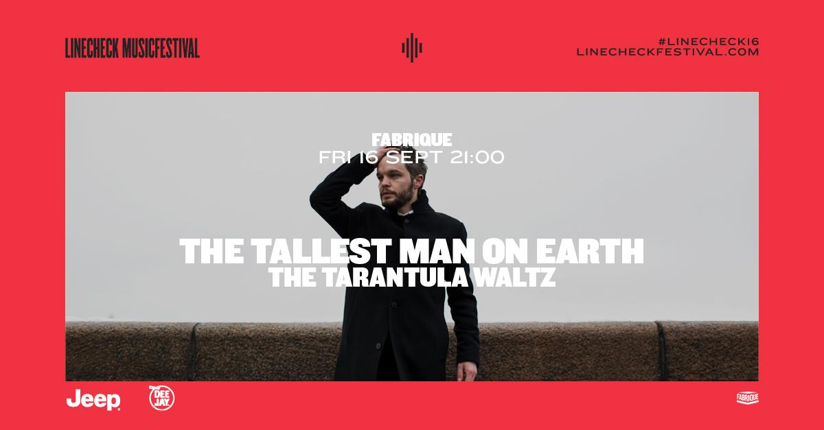 The Tallest Man on Earth il 16 settembre al Fabrique di Milano