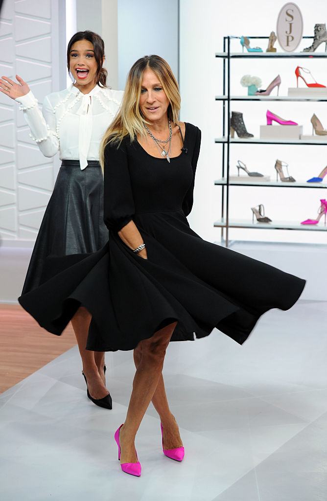Sarah Jessica Parker Appears on Amazon's Style Code Live