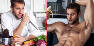 Quando il cuoco è sexy: ecco Franco Noriega, modello e chef