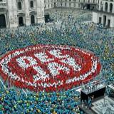 Il nuovo spot di Deejay: in 2500 in piazza Duomo