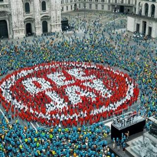 Flash Mob a Milano sulle note di Robbie