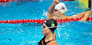 Federica Pellegrini è ancora la più forte: oro mondiale nei 200 stile libero in vasca corta