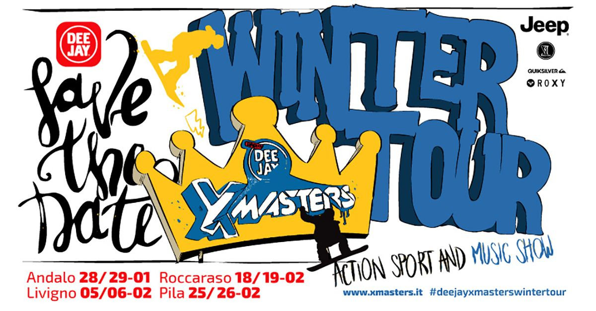Deejay Xmasters Winter Tour: ready to go!