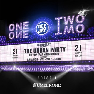 The Urban Party Tour, la festa hip hop di Radio Deejay