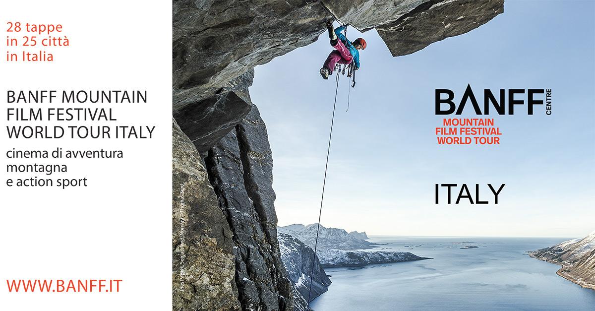 Banff Mountain Film Festival World Tour Italy compie 5 anni: al via la nuova edizione!