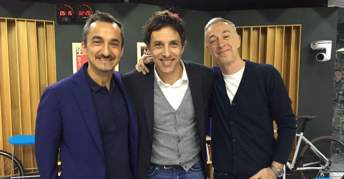 Ubaldo Pantani, le imitazioni di Allegri, Sarri, Paulo Sousa e Di Canio a DJCI