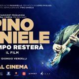 """Nuove repliche per """"Pino Daniele. Il tempo resterà"""" il film di Giorgio Verdelli."""