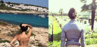 """Panorami incredibili e lato B nudo. Si chiama """"Cheeky Exploits"""" ed è la nuova moda di Instagram"""