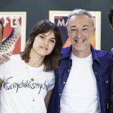 """""""Così ci siamo scambiati le menti"""" Pierfrancesco Favino e Kasia Smutniak a DJCI"""
