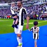 """""""Juventus Le6end"""": 6º scudetto di fila. Ma il figlio di Bonucci sembra triste: tifa Toro"""
