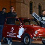 Dalla Puglia al Galles in una 500: l'impresa di 4 tifosi della Juve per la finale di Champions