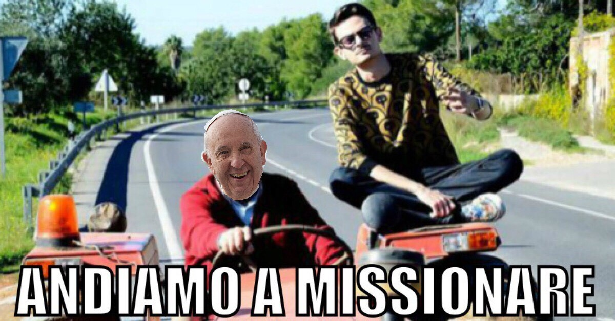 'Andiamo a missionare', Papa Francesco cita Rovazzi? Il cantante risponde: 'Sono onorato'