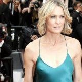 """Cannes, Robin Wright illumina la Croisette: """"Trump ci ha rubato le idee per House of Cards"""""""