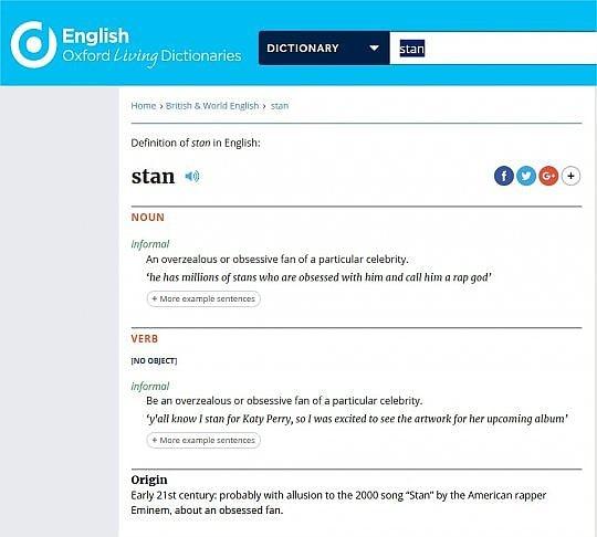 Il suggestivo video di Stan, diretto da Phil Atwell e Dr. Dre, raccontava  esattamente il testo della canzone. L'ossessione per la star, le lunghe  lettere ...