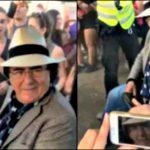 Al Bano arriva al concerto di Martin Garrix e Justin Bieber: pubblico in delirio