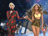 Stella Maxwell con Lady Gaga