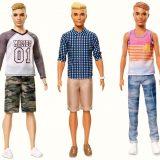 Ken: il fidanzato più famoso dei giocattoli cambia look e corporatura (uno ha pure il codino)
