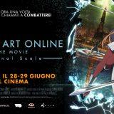 """Torna a grande richiesta""""Sword art online. The movie. Ordinal Scale"""" al cinema solo il 28 e 29 giugno"""