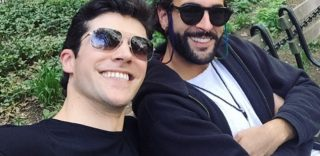 Roberto Bolle e Marco Mengoni insieme a New York, il selfie che scatena la curiosità dei fan