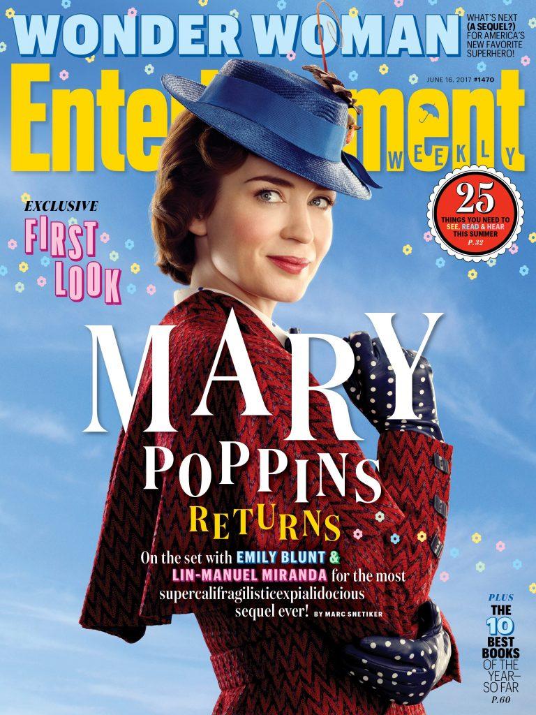 Mary Poppins è tornata  le prime immagini ufficiali con il volto della  nuova tata cb01b165f75d