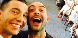 """""""Il momento più bello della nostra vita"""" Diego e Pier Mario a nozze: il video delle promesse"""
