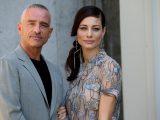 Eros Ramazzotti con la moglie Marica Pellegrinelli