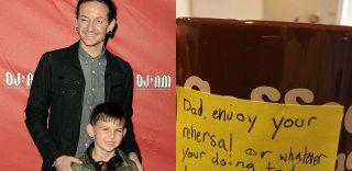 Il toccante messaggio del figlio di Chester dei Linkin Park, poco prima della morte del padre
