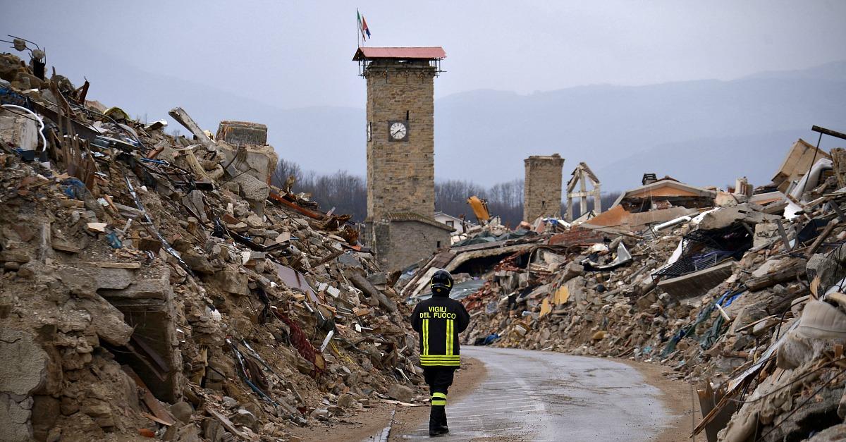Un anno dal sisma di Amatrice: in un video il confronto tra ieri e oggi