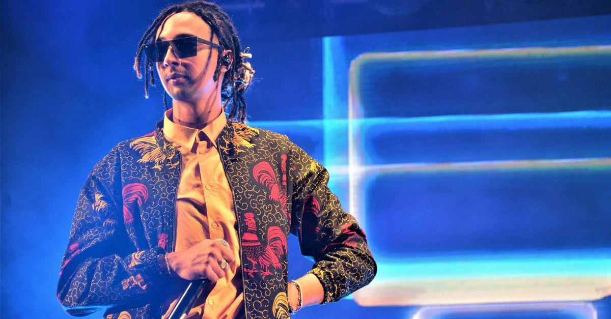 Ghali a Deejay On Stage: foto