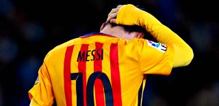 Il dolore di Messi e delle star sui social