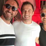 """""""Tra Los Angeles e l'Italia, con la Juve nel cuore"""" Alessandro Del Piero con Andrea e Michele"""