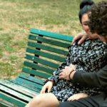 Giusy Ferreri e il suo pancione di 8 mesi nel nuovo video con Federico Zampaglione