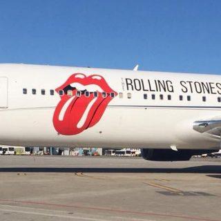 I Rolling Stones atterrano a Pisa, pronti per il concerto