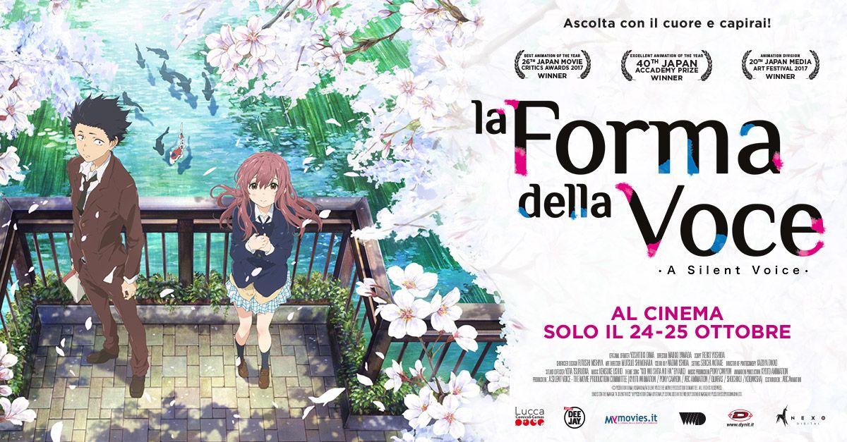 Dopo Lincredibile Successo Di Your Name Arriva Nei Cinema Italiani Solo Il 24 E 25 Ottobre Film Basato Su Sullacclamato Manga A Silent Voice