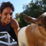"""Nasce il """"Goat Yoga"""": esercizi in fattoria e con le caprette"""