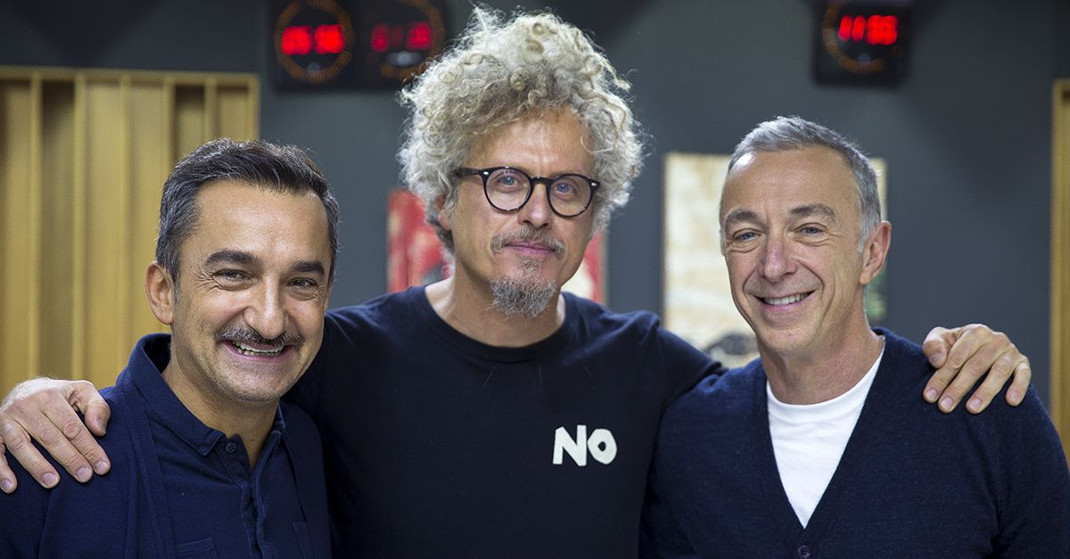 """Niccolò Fabi a DJCI fa sentire il provino di """"Capelli"""" registrato a 23 anni: """"Fa impressione"""""""