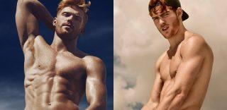 'Red Hot', il calendario 2018 con i modelli dai capelli rossi si può già sfogliare