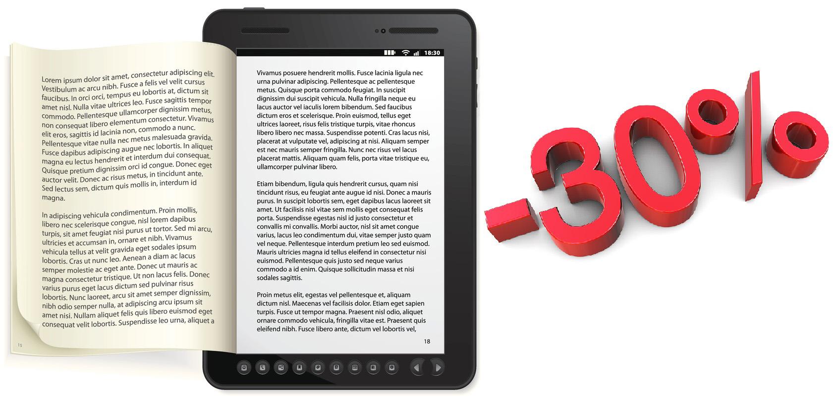 Promo autori: conversione ebook e distribuzione su Amazon con il 30% di sconto