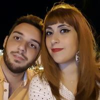 Alberto Giulio Ruvolo e Chiara Collura