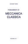 copertina Fondamenti di Meccanica classica