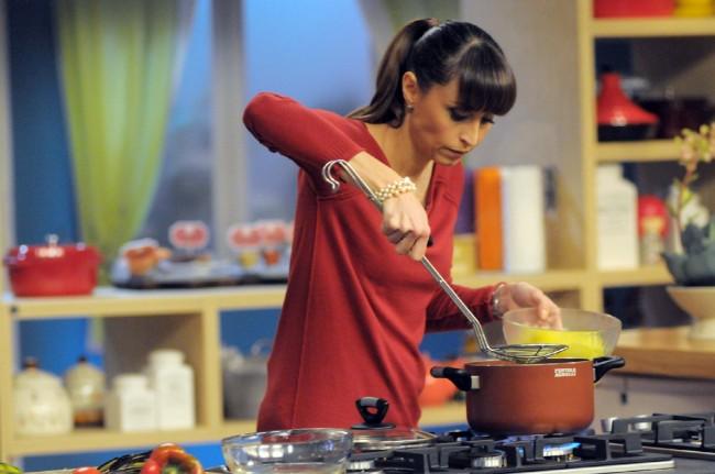 benedetta parodi cucina a rischio