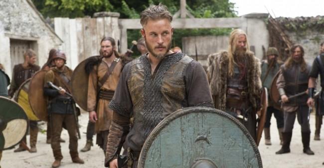 """VIKINGS Una scena di """"Vikings"""""""