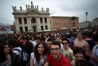 Concertone, le immagini del Primo Maggio a Piazza San Giovanni