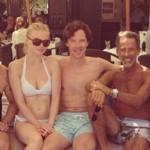 Benedict Cumberbatch celebra le nozze degli amici gay