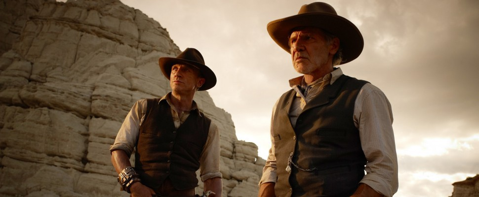 Cowboys & Aliens, Daniel Craig, Harrison Ford e tanti mostri
