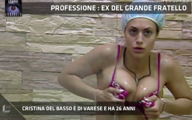 Cristina Del Basso Foto Calendario.Cristina Del Basso Ex Del Grande Fratello Com Era Com E