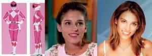 """KIMBERLY, LA PINK RANGER - AMY JO JOHNSON  Nella serie il suo colore era il rosa, ed era l'unica ad avere la tuta con il gonnellino, l'arma l'arco e lo zord uno pterodattilo. Di tutto il cast di """"Power Rangers"""" la Johnson è quella che avuto più fortuna: è stata Julie nella serie tv """"Felicity"""" e una dei protagonisti in """"Flashpoint"""". Oggi è una cantante e ha appena ottenuto un ruolo nella quinta stagione di """"Covert Affairs"""", è sposata dal 2010 e ha un figlio."""