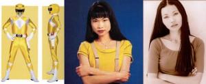 TRINI, LA YELLOW RANGER - THUY TRANG Nella serie il suo colore era il giallo, l'arma le daghe e lo zord uno smilodonte. Nel 2001, a 27 anni, Thuy Trang è morta in seguito a un incidente stradale, colpita da un'auto mentre era in corsa sulla sua moto.